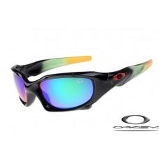 Oakley Pit Boss Sunglasses Black Frame Blue Lens OAKLEY20156362