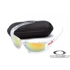 Oakley Scalpel Men Sunglasses Transparent Frame Yellow Lens OAKLEY20156373