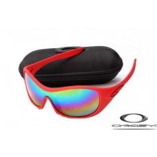Oakley Speechless Women Sunglasses Red Frame Colors Lens OAKLEY20156502
