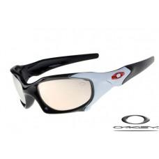 Oakley Pit Boss Sunglasses Black Milky Frame Gray Lens OAKLEY20156367