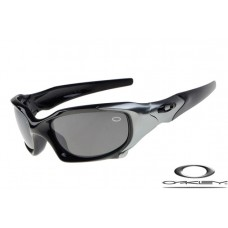 Oakley Pit Boss Sunglasses Polishing Black Gray Frame Gray Lens OAKLEY20156365