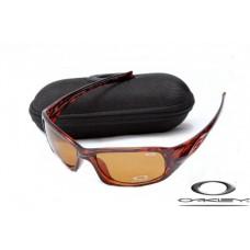 Oakley XS Fives Sunglasses Polishing Brown Frame Brown Iridium Lens OAKLEY20156351