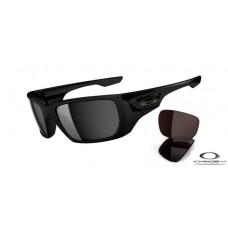 Oakley Style Switch Sunglasses Black Frame Grey Lens