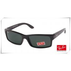 Ray Ban RB4151 Sunglasses Black Frame Classic Green Lens
