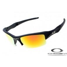 Oakley Flak Jacket Sunglasses Black Frame Yellow Lens OAKLEY20156454