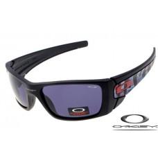 Oakley Fuel Cell Sunglasses Black Frame Blue Lens OAKLEY20156403