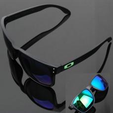 Oakley Holbrook Sunglasses Black Frame Ice Blue Lens