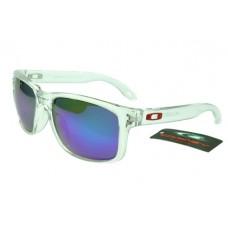Oakley Holbrook Sunglasses Army Green Frame Ice Blue Lens