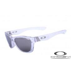 Oakley Jupiter Sunglasses Transparent Frame Gray Lens OAKLEY20156400