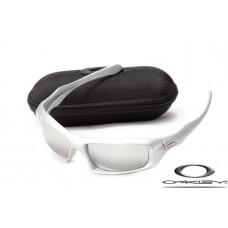 Oakley Monster Pup Sunglasses Silver Frame Silver Lens OAKLEY20156420