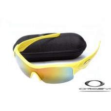 Oakley Straight Jacket Sunglasses Polishing Yellow Frame Yellow Blue Lens OAKLEY20156436