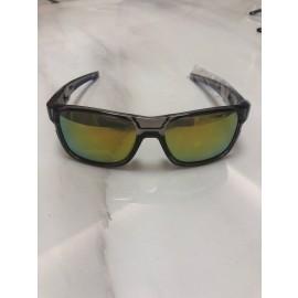 Oakley Crossrange Square Sunglasses smoke frame yellow lens